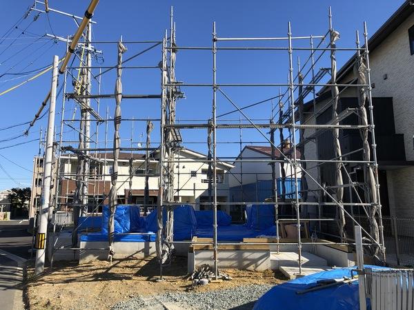 豊橋市 新築 自然素材と地下住宅/最高の上棟式