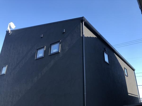 豊橋市 新築 自然素材と地下住宅 / 外壁材の種類