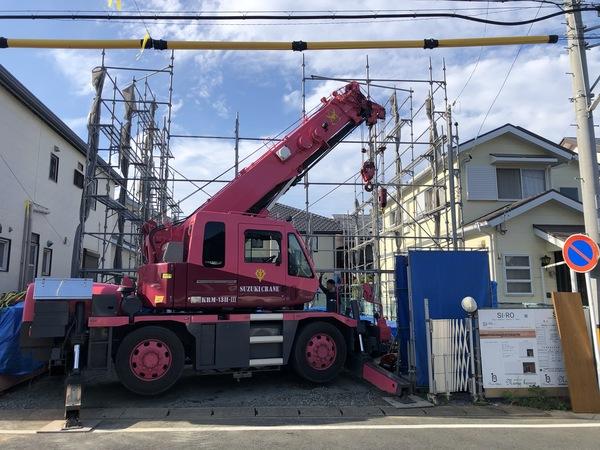 豊橋市 新築 自然素材と地下住宅 / 感動の上棟式!