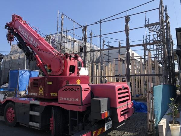 豊橋市 新築 自然素材と地下住宅 / 『KU-RO 05』姿現る!